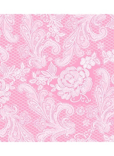 Pastel Pink Peçete-Dünya Style